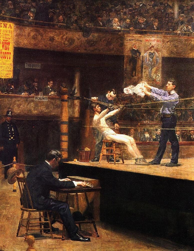 Thomas Eakins In the mid-time