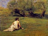 Thomas Eakins An Arcadian painting