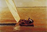 Thomas Eakins Sailing painting