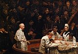 Thomas Eakins The Agnew Clinic painting