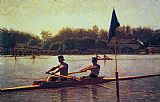 Thomas Eakins The Biglin Brothers Turning the Stake painting