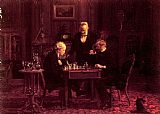 Thomas Eakins The Chess Players painting