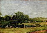 Thomas Eakins The Meadows, Gloucester painting