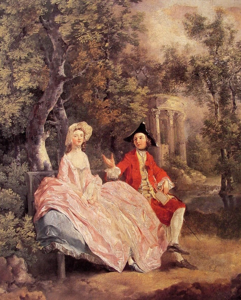 Thomas Gainsborough Conversation in a Park