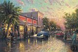 City paintings - Key West by Thomas Kinkade