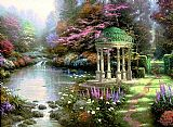 Thomas Kinkade The Garden of Prayer painting