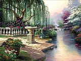Thomas Kinkade The Hour of Prayer painting