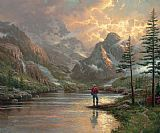 Thomas Kinkade almost heaven painting