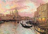 Venice paintings - venice by Thomas Kinkade