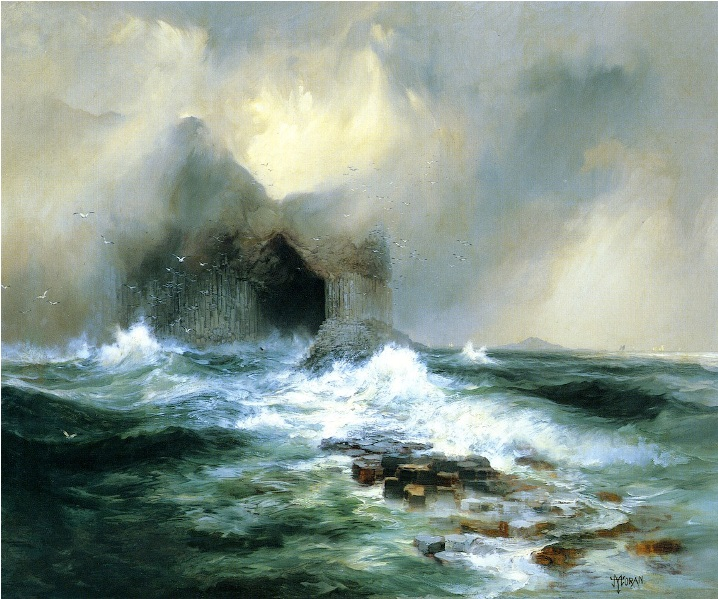 Thomas Moran Fingal's Cave, Island of Staffa, Scotland