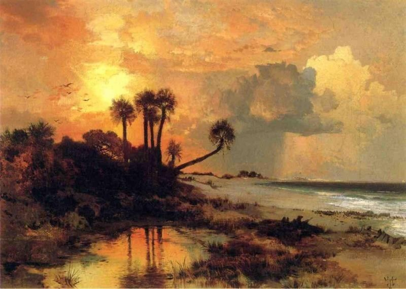 Thomas Moran Fort George Island