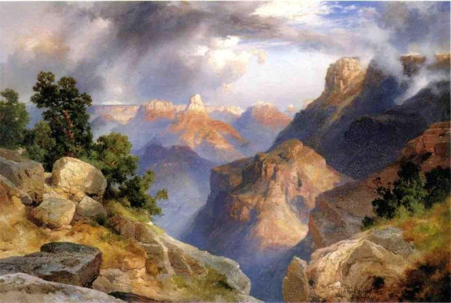 Thomas Moran Grand Canyon 1912