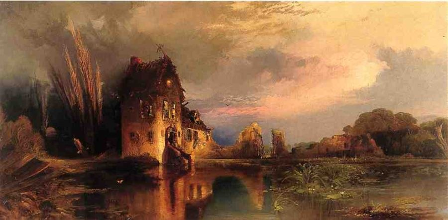 Thomas Moran Haunted House