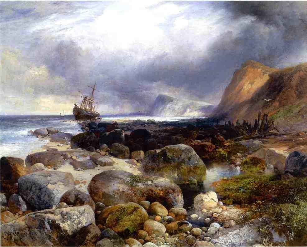 Thomas Moran The Morning After