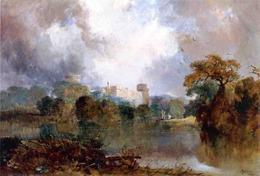 Thomas Moran Windsor Castle