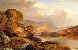 Thomas Moran Autumn Landscape painting