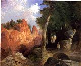 Thomas Moran Canyon of the Clouds painting