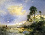 Thomas Moran Fort George Island, Florida painting