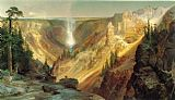 Thomas Moran Grand Canyon of the Yellowstone painting