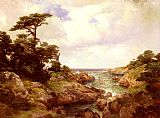 Thomas Moran Monterey Coast painting