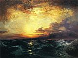 Thomas Moran Pacific Sunset painting