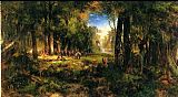 Thomas Moran Ponce De Leon in Florida painting