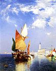 Thomas Moran The Grand Canal,Venice painting
