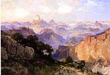 Thomas Moran The Grand Canyon 1902 painting