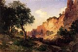 Thomas Moran The Grand Canyon Hance Trail painting