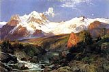 Thomas Moran The Teton Range painting