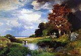 Thomas Moran View of East Hampton painting