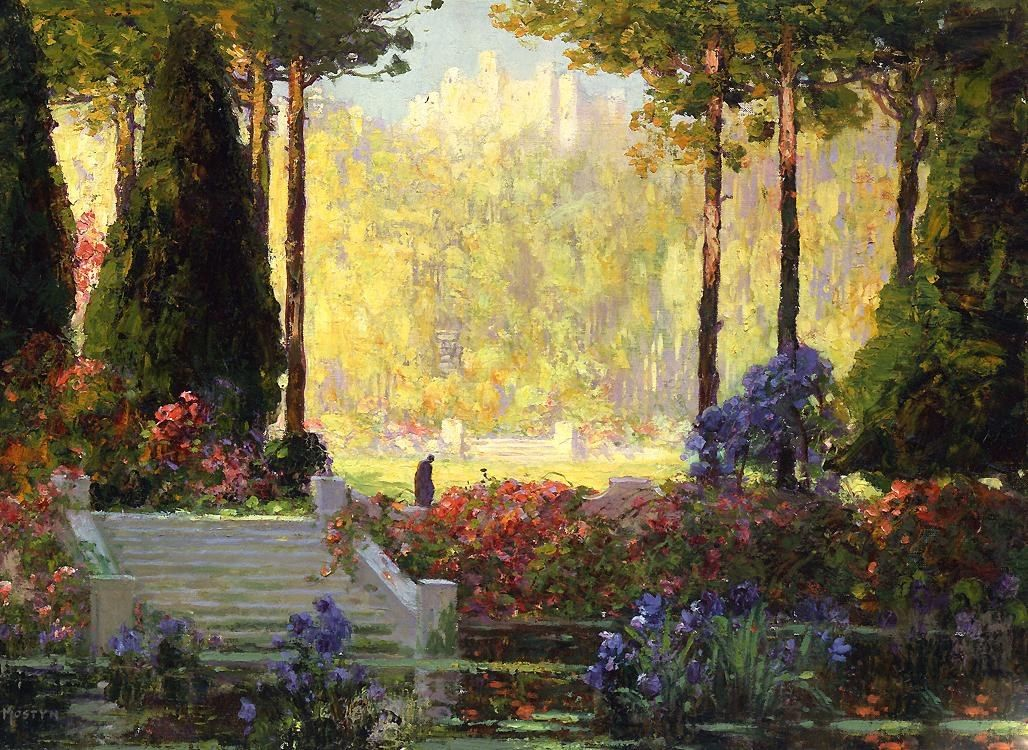 Tom Mostyn The Garden of the Castle