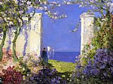 Mediterranean paintings - A Magical Morning by Tom Mostyn