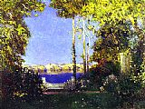Tom Mostyn The never-never Land painting