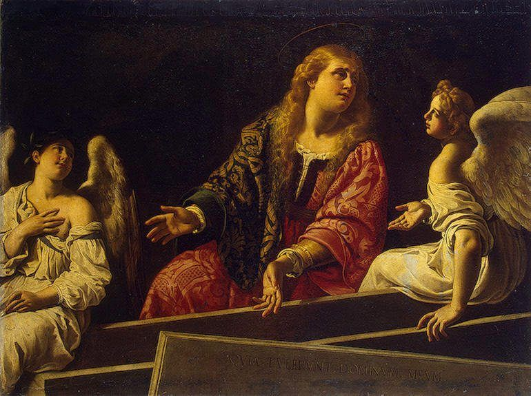 Unknown Artist Mary Magdalene at the Tomb