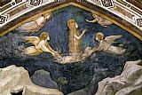 Mary Magdalene paintings - Life of Mary Magdalene Mary Magdalene Speaking to the Angels By Giotto di Bondone by Unknown Artist