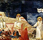 Mary Magdalene paintings - Life of Mary Magdalene Noli me tangere By Giotto by Unknown Artist