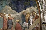 Mary Magdalene paintings - Life of Mary Magdalene Raising of Lazarus By Giotto di Bondone by Unknown Artist
