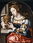 Mary Magdalene paintings - Mary Magdalene By John Gossaert by Unknown Artist