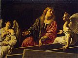Mary Magdalene paintings - Mary Magdalene at the Tomb by Unknown Artist
