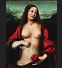 Mary Magdalene paintings - Mary Magdalene holy grail by Unknown Artist