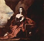 Unknown Artist Mary Magdalene in the Desert painting