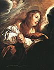 Mary Magdalene paintings - Saint Mary Magdalene Penitent By Domenico Feti by Unknown Artist