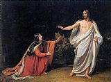 Mary Magdalene paintings - The Appearance of Christ to Mary Magdalene By Alexander Ivanov by Unknown Artist