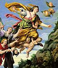 Unknown Artist The Assumption of Mary Magdalene into Heaven Domenichino painting