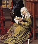 Mary Magdalene paintings - The Magdalen Reading By Weyden Rogierc by Unknown Artist