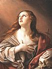 Mary Magdalene paintings - The Penitent Magdalene By Guido Reni by Unknown Artist