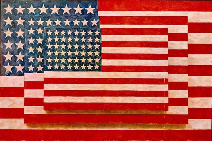 Unknown Artist Jasper Johns three flags