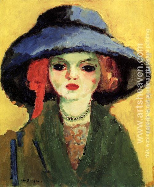 Unknown Artist Kees van Dongen Portrait of Dolly