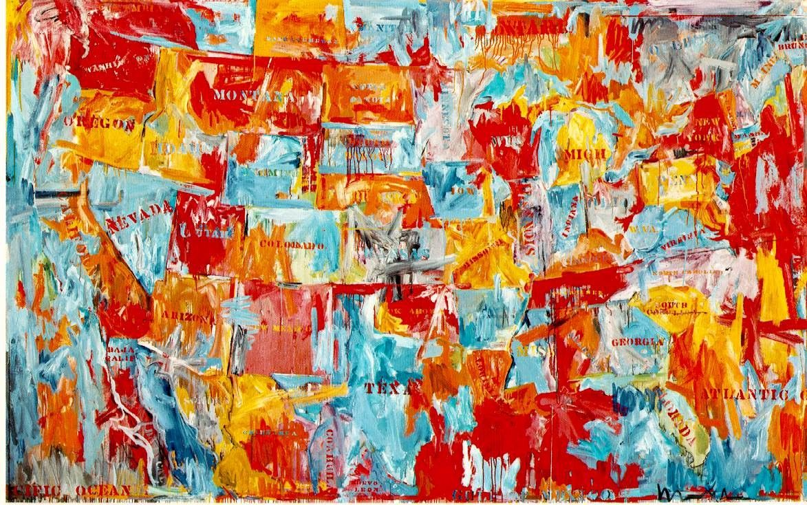 A living legend jasper johns distrito47 for John s painting